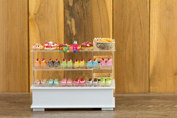 Escala 1//12 paquetes surtidos dulce Conjunto de 10 Para Casa De Muñecas Miniaturas VI