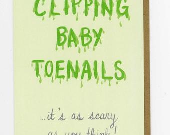 Clipping Baby Toenails