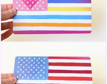 America Love Lenticular