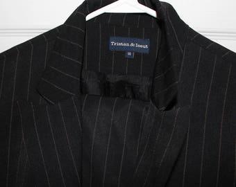 VTG 90s TRISTAN & ISEUT Black Power Suit