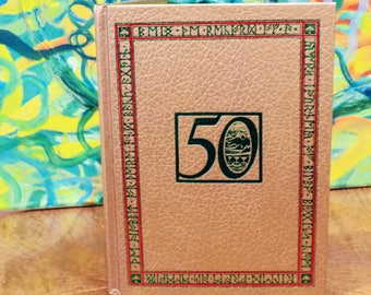 """50th Anniversary Gold Edition of """"The Hobbit"""" written by J.R.R. Tolkein"""