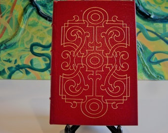 The Scarlet Letter by Nathaniel Hawthorne; Leatherbound by The Easton Press; Vintage; Copyright 1975