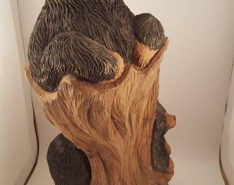 Wood Stump Etsy