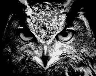 owl paper cut etsy