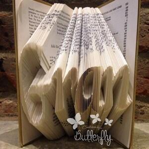 Book Folding Pattern /'Julie/' 360 Folds PDF /& Tutorial Immediate Download
