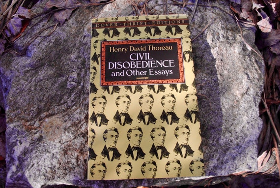 Henry David Thoreau Civil Disobedience And Other Essays  Etsy Image