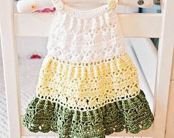 Girls crochet sun dress