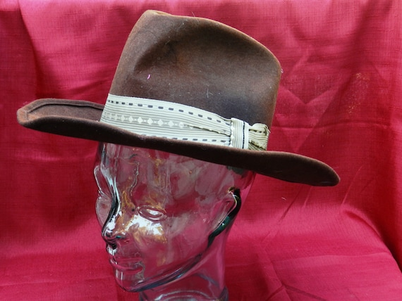 f9618b53ae2 Vintage Dorfman Pacific  The Lariat  Cowboy Hat