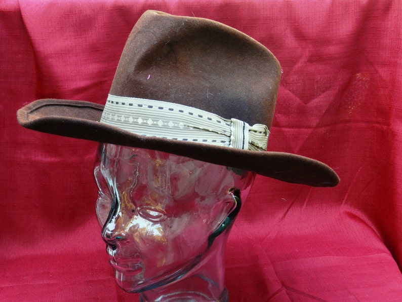 42581163d15 Vintage Dorfman Pacific  The Lariat  Cowboy Hat