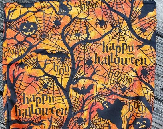 Halloween Tote, Trick or Treat Bag, Fall Decor, Fall Market Bag, Halloween Decor,  Fall Gift Bag, Fall Gift Basket , Halloween Bag Gift