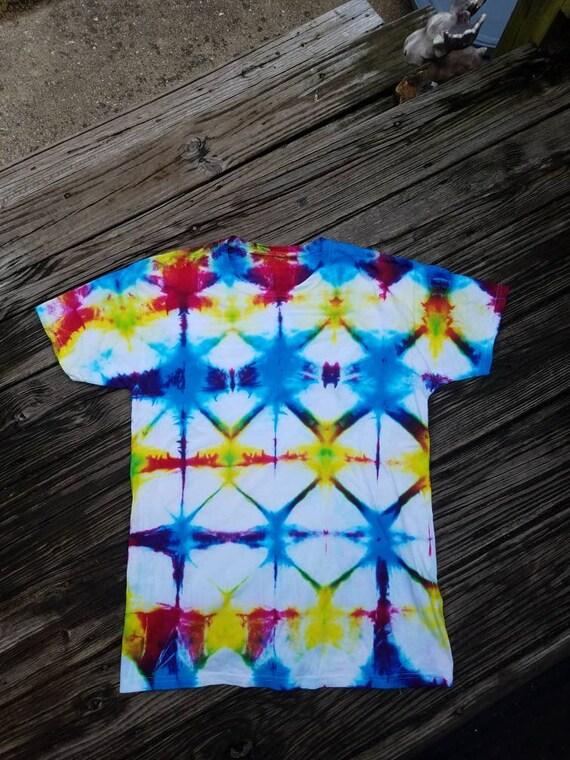 Tie Dye Tee Shirt, Hand dyed tee shirt, Tie Dye Gift, Hippie gift,