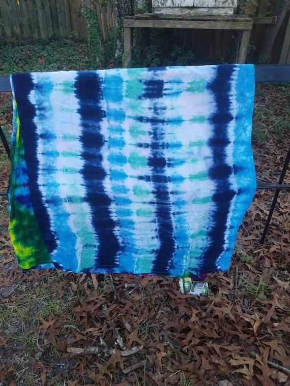 Tie Dye Flour Sack Towel, Tie Dye Gift,  Tie Dye, Tie Dye Kitchen Towel, Tie Dye Hanging, Tie Dye Tea Towel