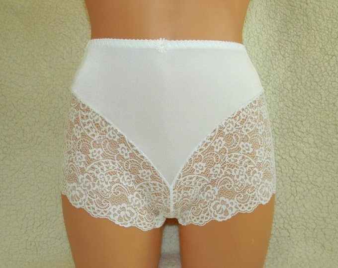 high waist panties,high waist underwear,wedding panties,retro lingerie,vintage high waist underwear,handmade lace lingerie,plus size,vintage