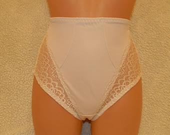 shape wear,high waist beige,shape lingerie,plus size panties,handmade panties,shape panties,lace lingerie,lace underwear,vintage lingerie