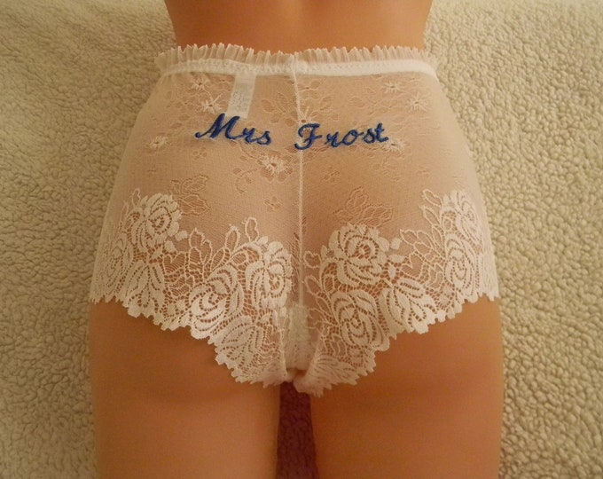 embroidery,white shorts,panties,handmade,bridal lingerie,lace lingerie,custom made,vintage,plus size,underwear,personalized embroidery