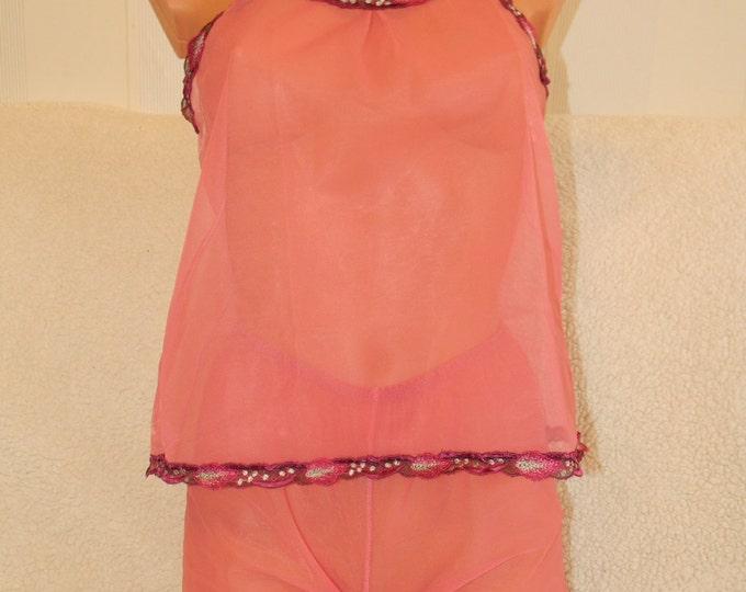 comfy,pajamas,comfortable,night wear,Vintage,NightWear,Large Slip,Top Set,Under,Skirt,Vest,White,Lace,Lingerie,crotchles,nightwear,plus size