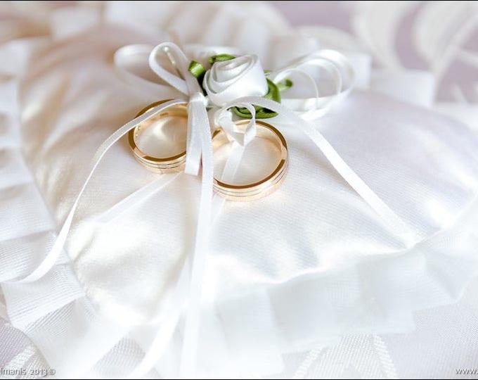 wedding pillow,ring bearer pillow,pillow basket set,white wedding pillow,ivory lace bearer,ivory lace pillow
