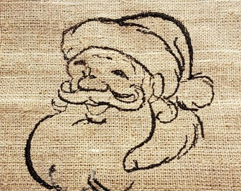 Christmas gift bag,embroidery,Christmas bag,Santa pes brother,brother pes,surprise Santa,Christmas hat,Santa hat,bagging,sackcloth,gift