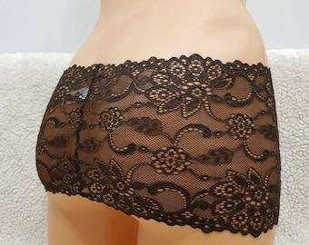Lace belt,panties,crotchless lingerie,black lace,waist belt,panties belt,lace mini skirt,lace skirt,crotchless panties,lace crotchless,sexy