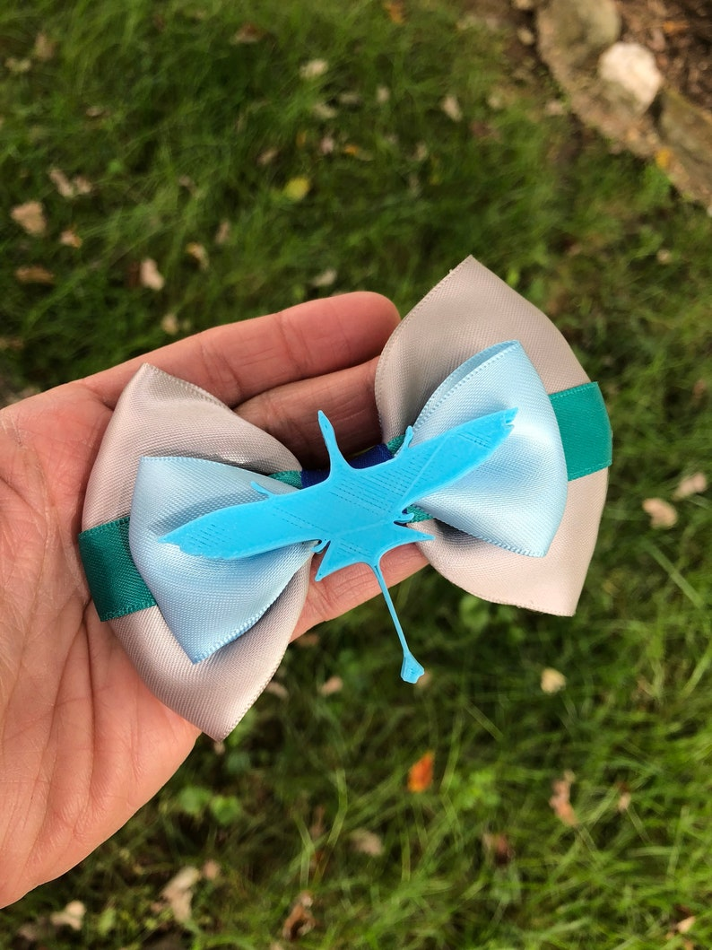 Avatar inspired hairbow banshee