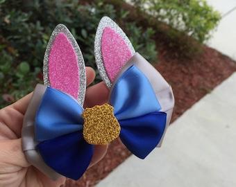 Judy hopps zootopia hairbow inspired