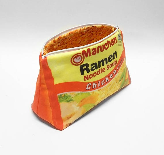 Ramen Noodle Multipurpose Clutch Bag