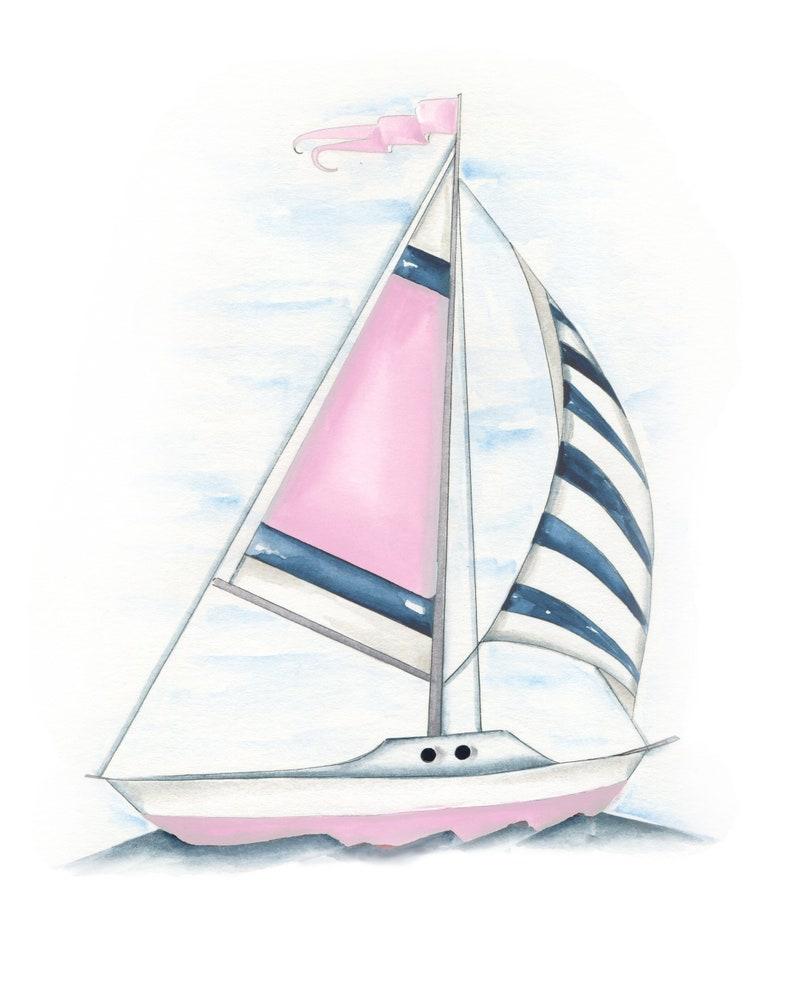 Paper Sailboat Place Cards