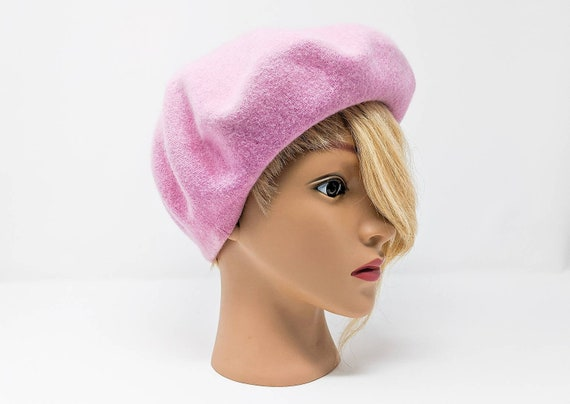 Vintage 1960's Wool and Rabbit Hair Cotton Candy P