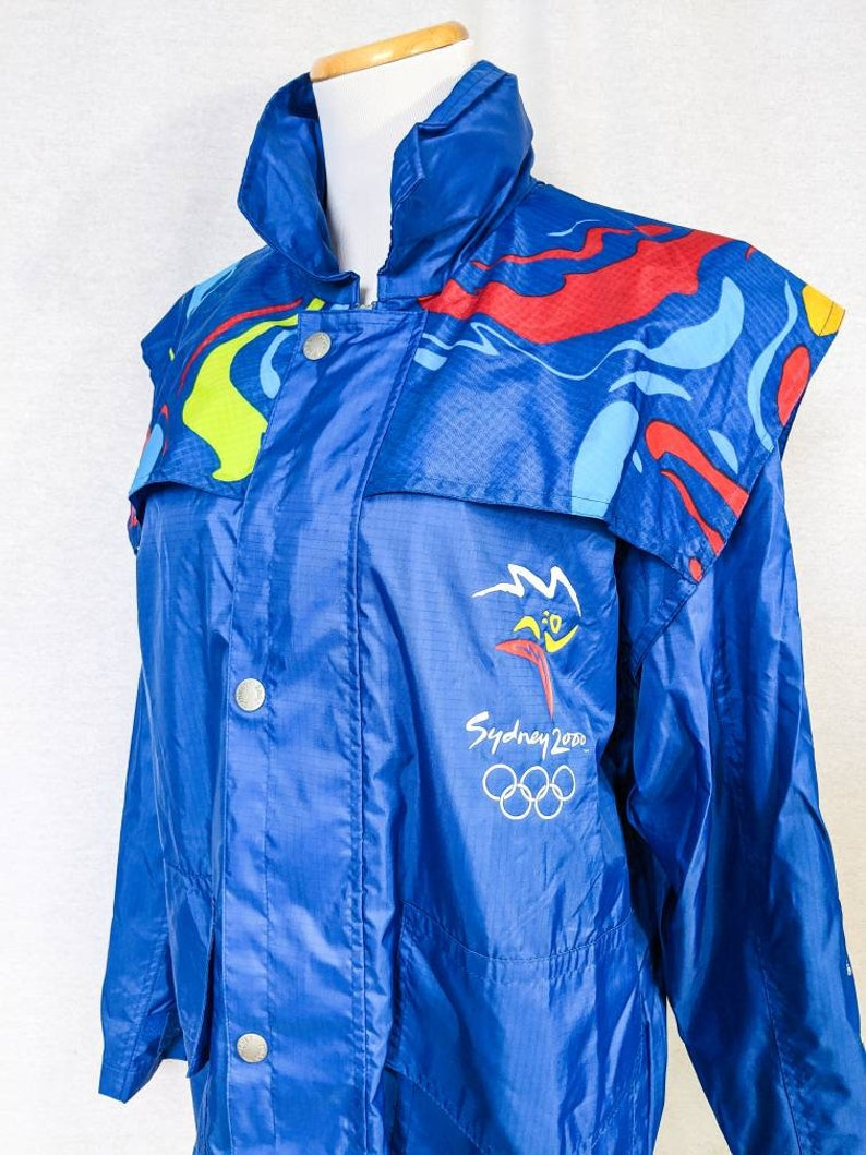 Official Sydney 200 Olympic Games Raincoat for Women Size S to L FREE SHIPPING