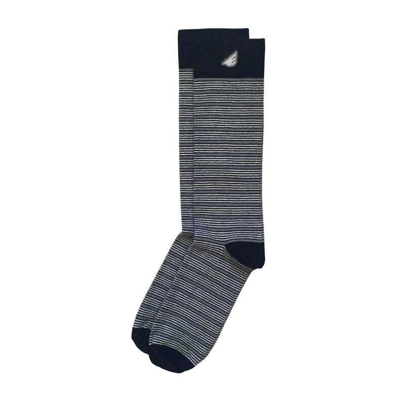 Unique USA-made Socks American-made Bundle 3-pack Black /& White Formal Tuxedo Socks for Men Christmas Gift Holiday Stocking Stuffer