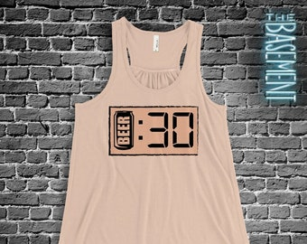 Beer Thirty funny drinking shirt - beer flowy tank top party shirt MDS-027F