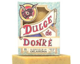 Donkey Milk Soap: Organic Oat and Honey