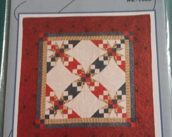 Giddy Up -- Pattern # K-1006 -- By Tammy Kelly for Common Threads -- 30 Inch  Wall Quilt or Table Centerpiece