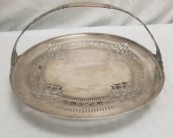Gorham Silver Cake Tray