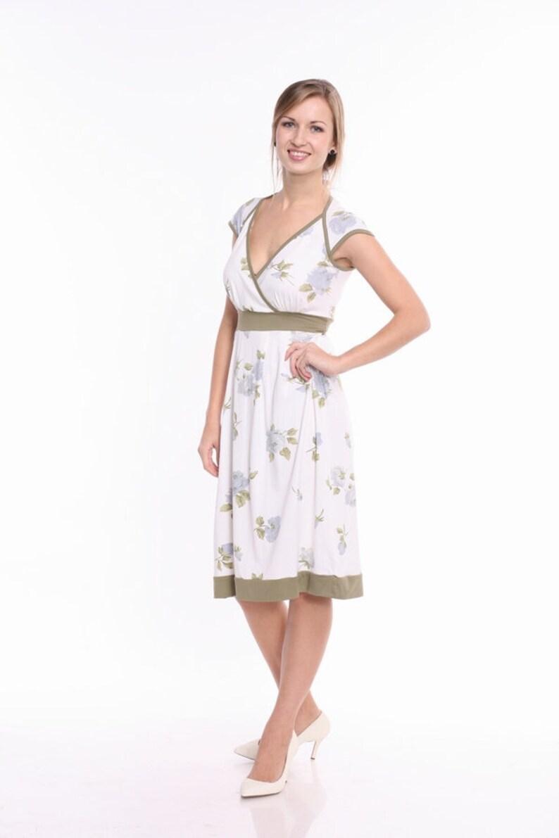 7e35c547c8e2e Nursing Dress Breastfeeding Dress Maternity Dress in White   Etsy