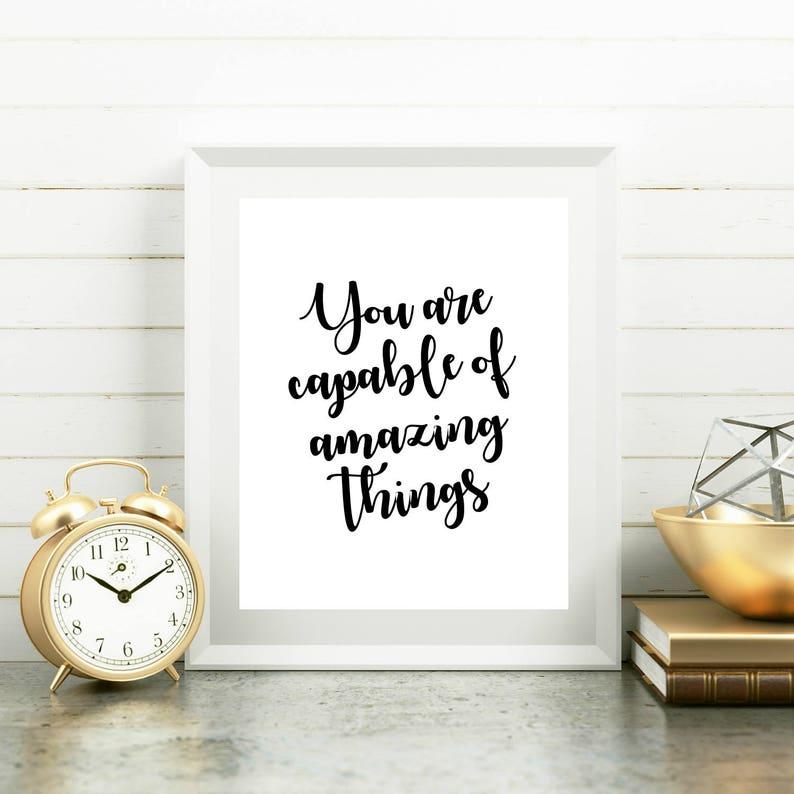 Graduation Printable Encouraging Quotes Inspirational Art Etsy