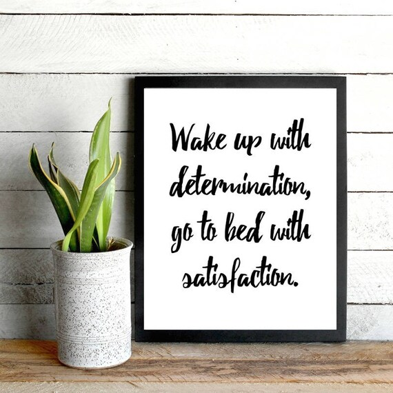 Items Similar To Daily Motivation Wake Up Print Printable Dorm