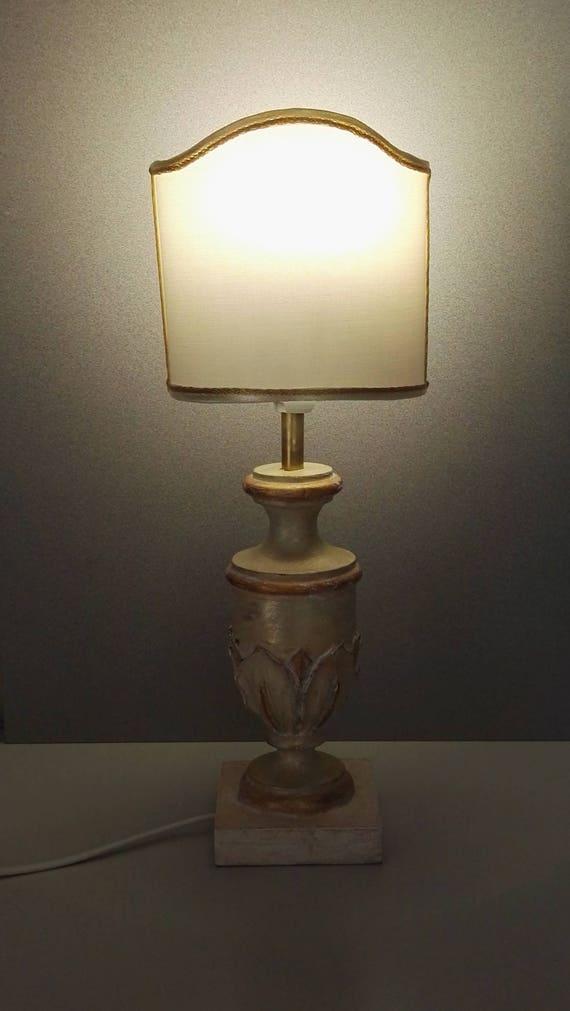 Abat Jour Wooden Lamp Table Lamp Gift Idea Etsy
