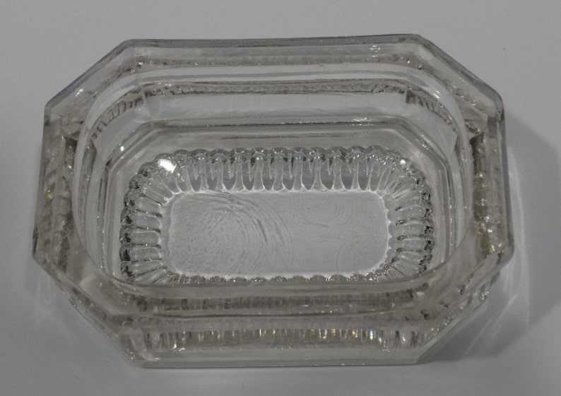 Pressed GlassElegant Glass Master Salts Three Different