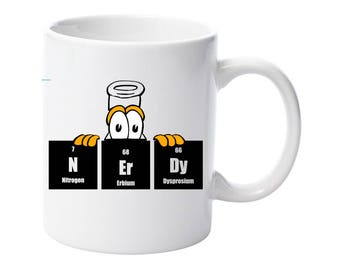 NErDy Chemistry Mug Present Birthday Funny