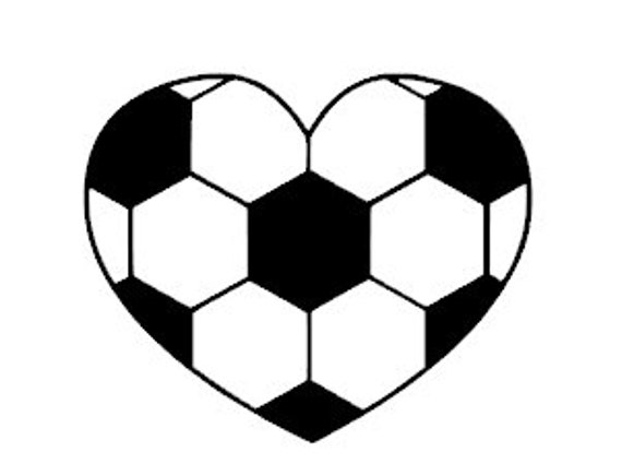 Soccer Ball Monogram Coffee Cups Laptops COLORS Car Window Vinyl Decal Sticker