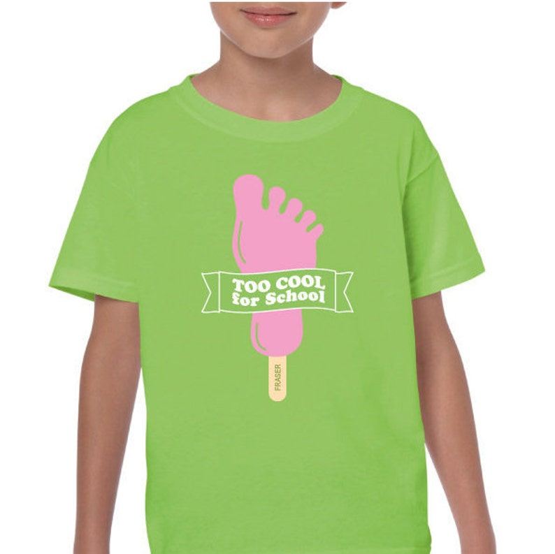 Funny Feet Ice Cream Lolly 'Too Cool for School' image 0