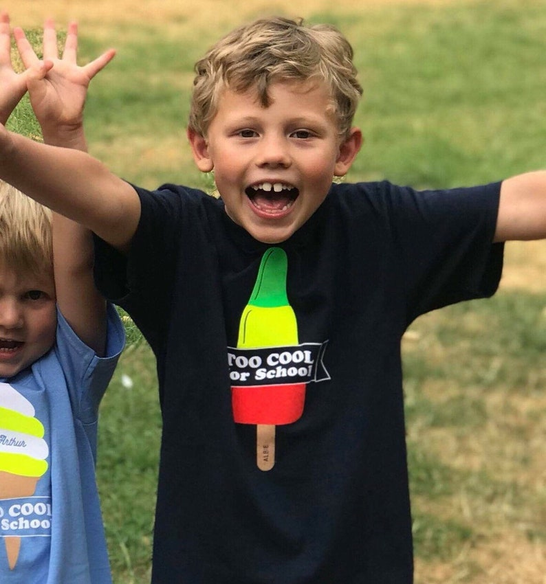 Zoom Rocket Ice Lolly 'Too Cool for School' Summer image 0
