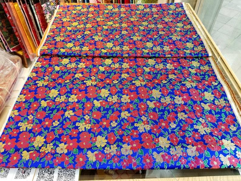 cb775085b Chinese silk brocade woven damask fabric cheongsam cushion   Etsy