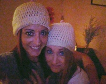 Boobie Beenie for adults or infants for support for Breast feeding & Breast Cancer Awareness.