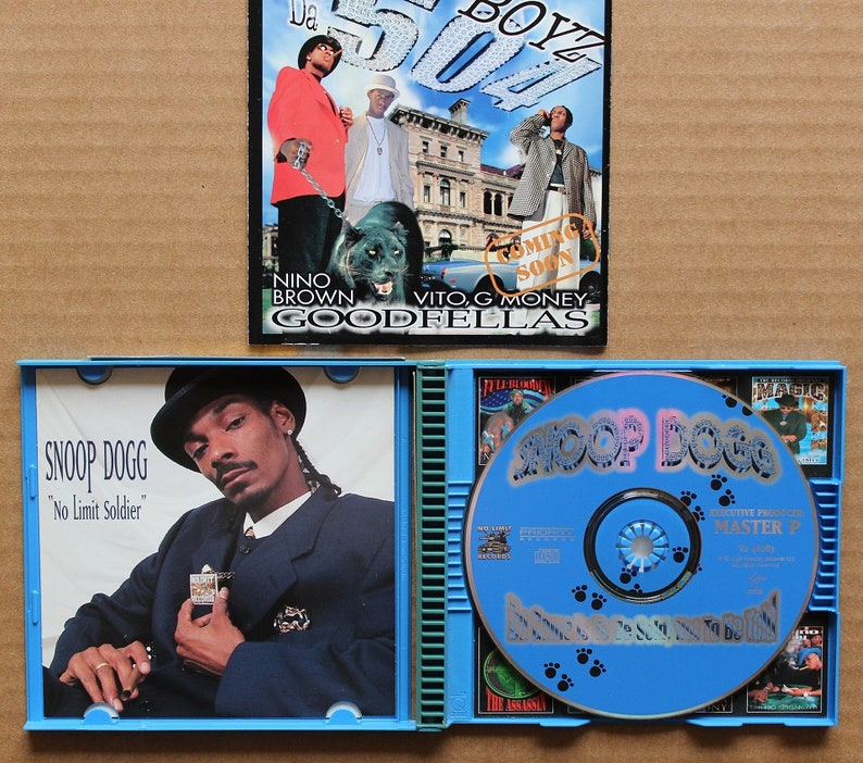 Snoop Dogg, Da Game Is To Be Sold, Virigin, No Limits Records, Canada 1998,  Q Pack, Rap Hip Hop Compact Disc