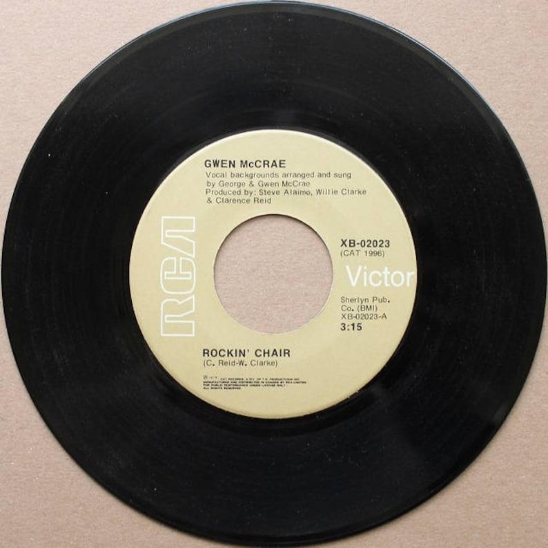 image 0 ... & Gwen McCrae Rockinu0027 Chair RCA Victor Canada 1975   Etsy
