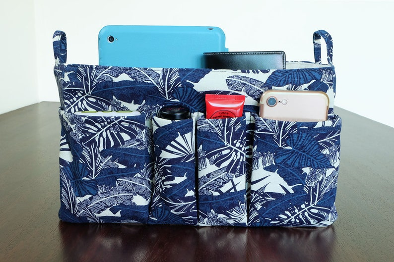 7ad09bd8d65 Navy Blue Leaf Purse Insert Bag Organizer Louis Vuitton LV | Etsy