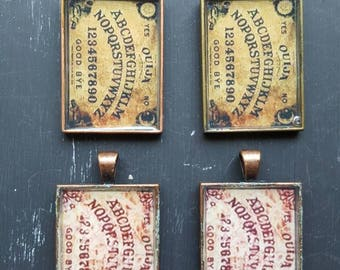 Halloween Ouija Board charms.