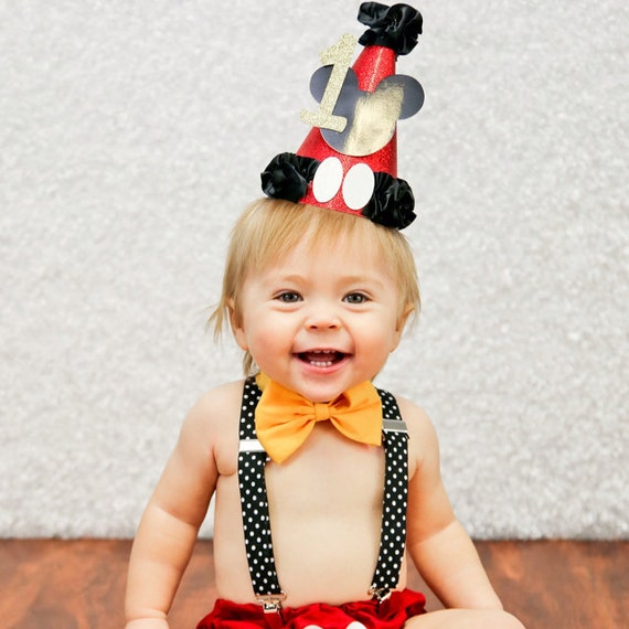 Mickey Mouse Cake Smash Outfit Birthday